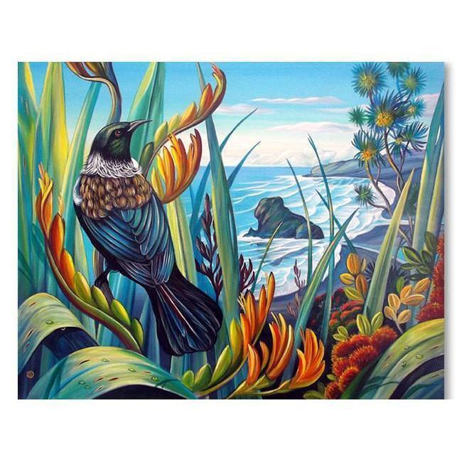 Tui Vista Canvas By Irina Velman-NZ ART-Image Vault ltd (NZ)-The Outpost NZ