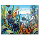 Tui Vista Canvas By Irina Velman,NZ ART,The Outpost NZ The Outpost NZ, New Zealand, outpost, Queenstown