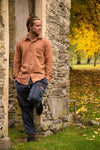 Waffer Shirt-CLOTHING / SHIRTS-Lovely Felt (NEP)-Rust-S-The Outpost NZ[Mens]