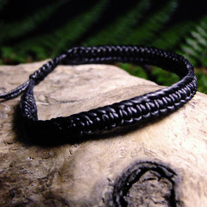 Wax Bracelet-JEWELLERY / BRACELET-Joe Design (THA)-Black-The Outpost NZ