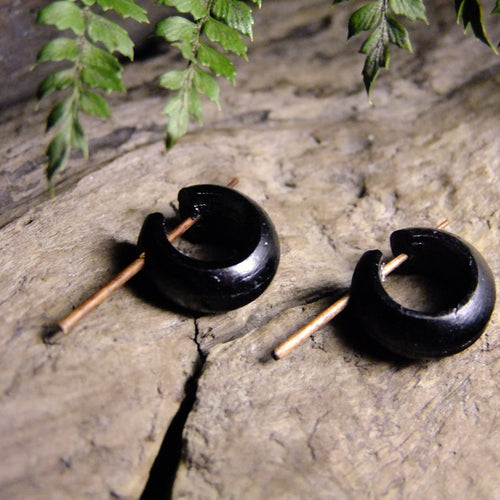 Wood Pin Stretcher-JEWELLERY / PLUGS & STRETCHERS-Organic Jewelry Wholesale (THA)-Small-The Outpost NZ