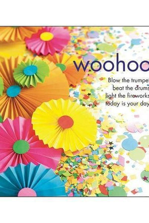 Woohoo Colourful Card-NZ CARDS-Affirmations (NZ)-The Outpost NZ