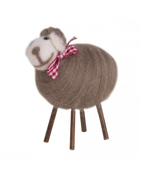 Wool Sheep Brown Spun-NZ HOMEWARES-JASON products (NZ)-The Outpost NZ