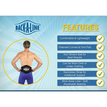backaline belt features