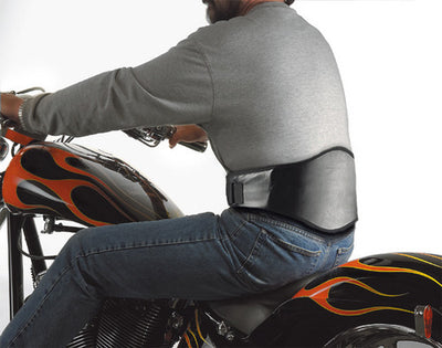 Back Support for Motorcycle Riders