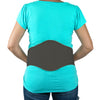 Baby Your Back Maternity Belly Band with Orthopedic Lumbar Pad, Black