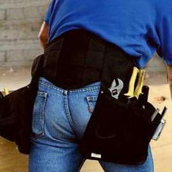 Back-A-Line Tool Belt Holder