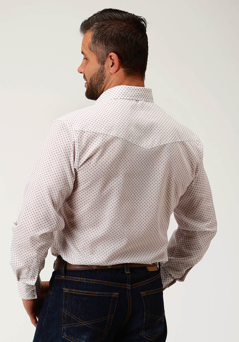 Roper Mens - Classic 55/45 Collection - Shirt White 01019201 back