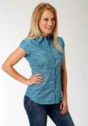 Roper Women's - Amarillio Collection Shirt Blue 03-051-0225-0353