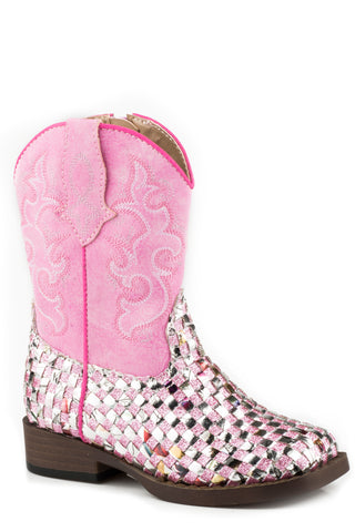 Roper Toddler Boots Western Braid