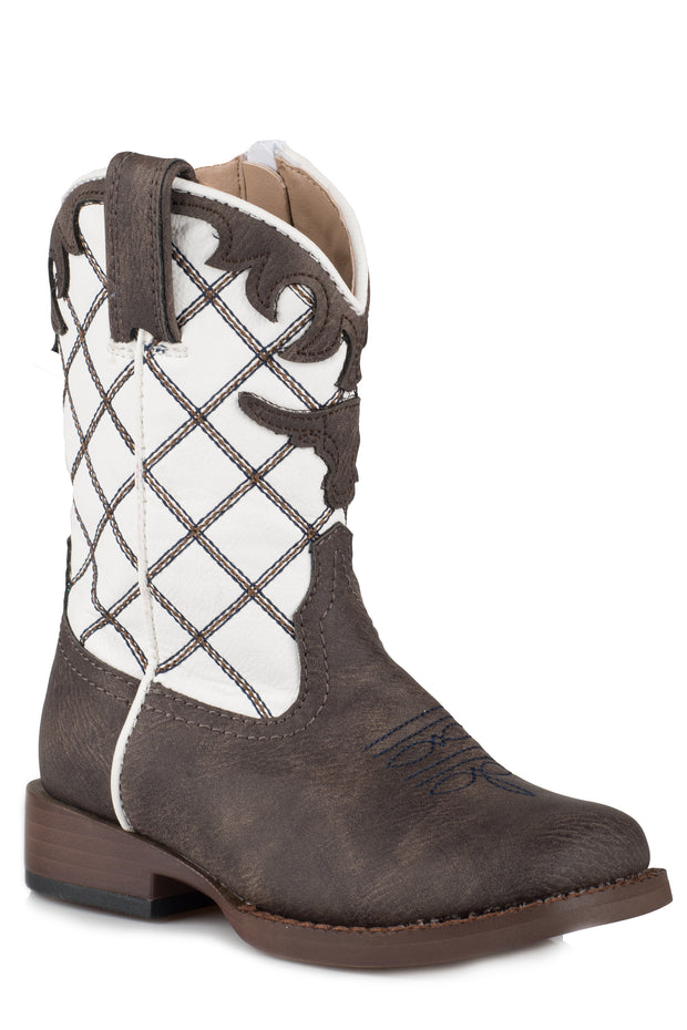 Roper Toddler Boots Steerhead