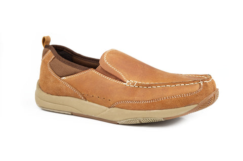 Roper Casual Slip On Tan 09-020-1661-0018