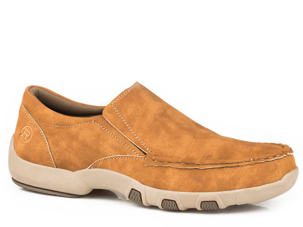 Roper Men's Driving Moc Tan 20783506