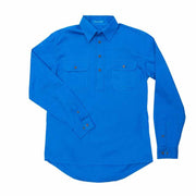 Just Country Workshirt Men's Cameron Blue Jewel