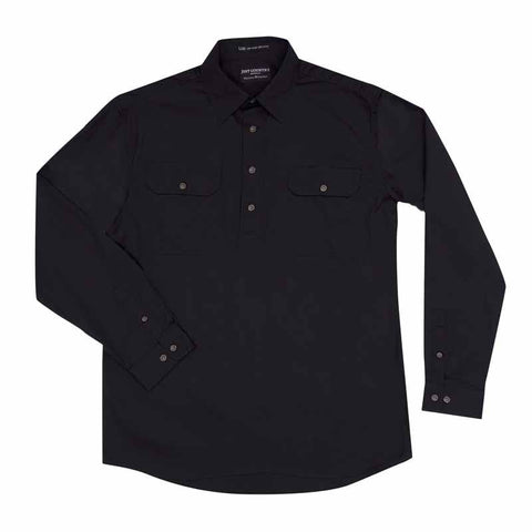 Just Country Workshirt Men's Cameron Black