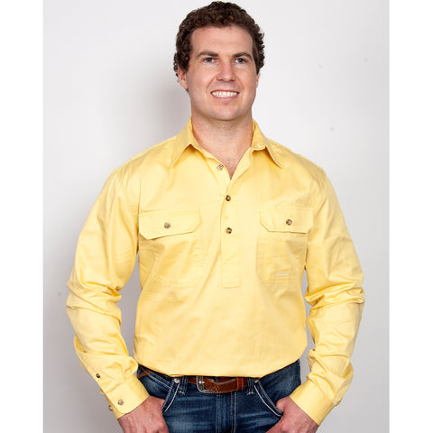Just Country Workshirt Men's Cameron Butter 10101BUT