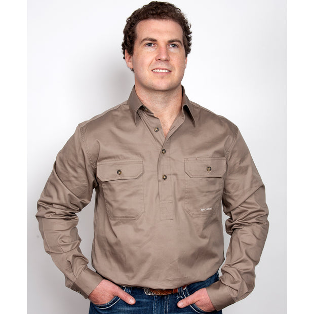 Just Country Workshirt Men's Cameron  Brown 10101BWN
