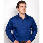Just Country Workshirt Men's Cameron Cobalt 10101CBT