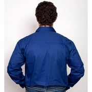 Just Country Workshirt Men's Cameron Cobalt 10101CBT back
