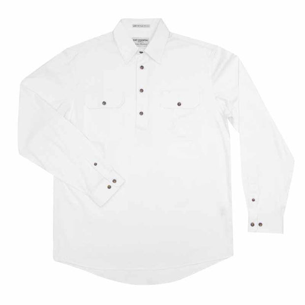 Just Country Workshirt Men's Cameron White