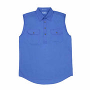 Just Country Workshirt Men's Jack Blue