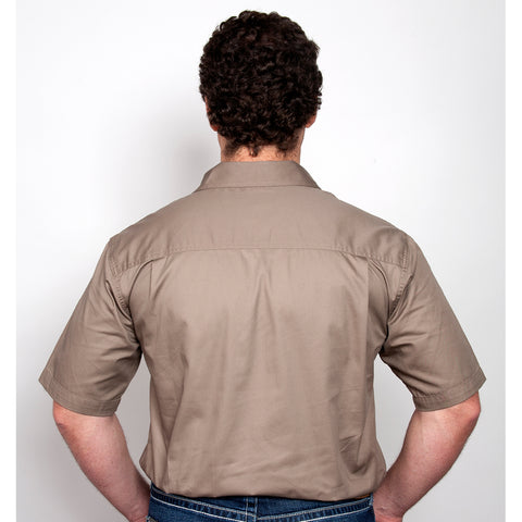 Just Country Workshirt Men's Adam Brown 10104BWN back