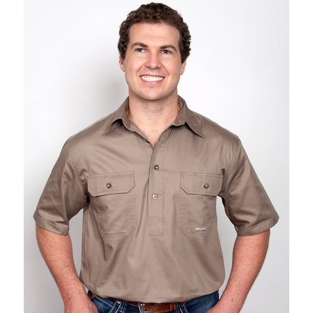 Just Country Workshirt Men's Adam Brown 10104BWN