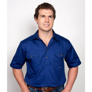 Just Country Workshirt Men's Adam Cobalt 10104CBT