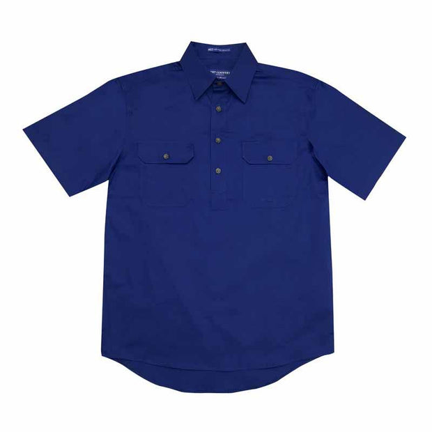 Just Country Workshirt Men's Adam Cobalt