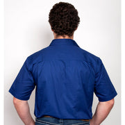 Just Country Workshirt Men's Adam Cobalt 10104CBT back
