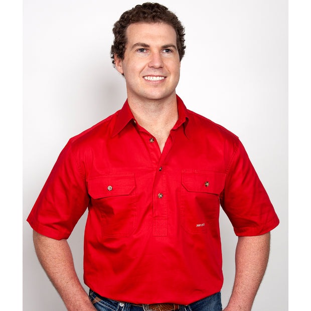Just Country Workshirt Men's Adam Chilli 10104CHI