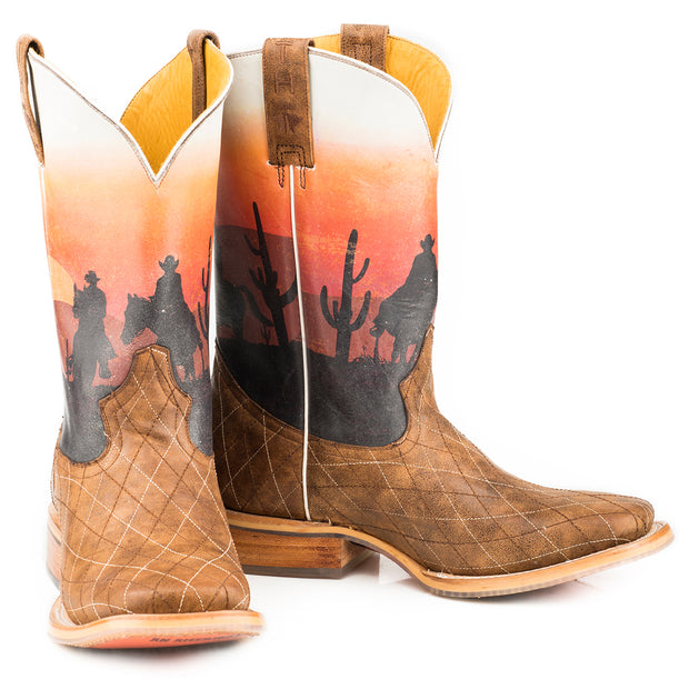 Tin Haul Sunset Rider - Outlaw Caravan 14-020-0007-0341 BR boots