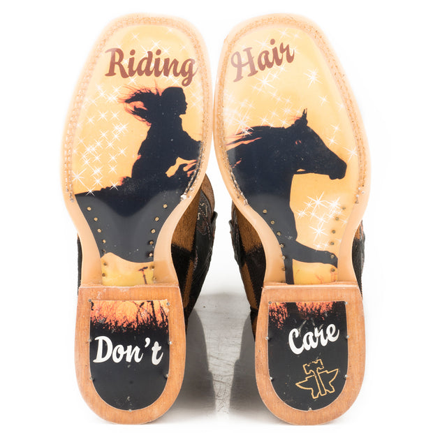 Women's Fuzzy Wuzzy - Riding Hair Don't Care 14-021-0007-1340 BL sole