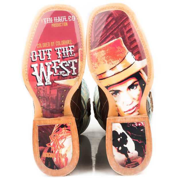 Tin Haul Women's Stampede - Retro Poster 14-021-0007-1342 BR sole