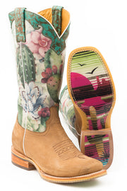 Tin Haul Women's On Point - Serape Sunset Sole 14-021-0077-1406 TA