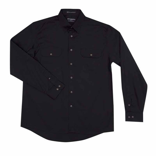 Just Country Workshirt Men's Evan Black