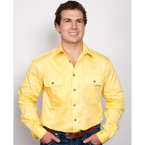 Just Country Workshirt Men's Evan Butter 20202BUT