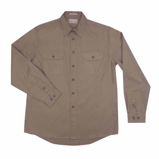 Just Country Workshirt Men's Evan Brown