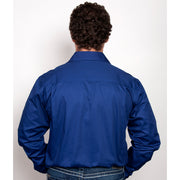 Just Country Workshirt Men's Evan Cobalt 20202CBT back