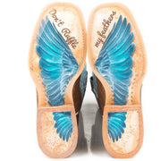 Women's Don't Ruffle My Feathers - Angel Wings 14-021-000-1341 BR sole
