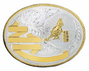 Montana Silversmiths Libby Trophy Buckle Barrel Racer