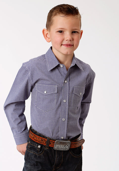 Roper Boy's - Amarillio Collection Shirt 30278014