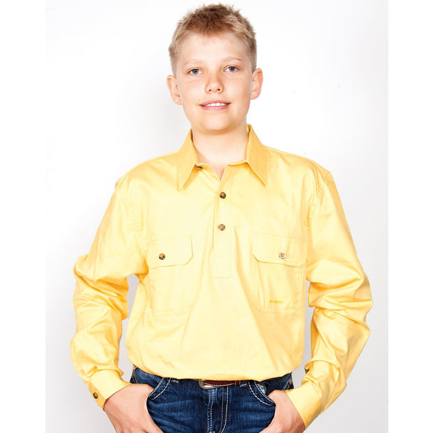 Just Country Workshirt Boy's Lachlan Butter 30303BUT