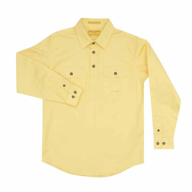 Just Country Workshirt Boy's Lachlan Butter