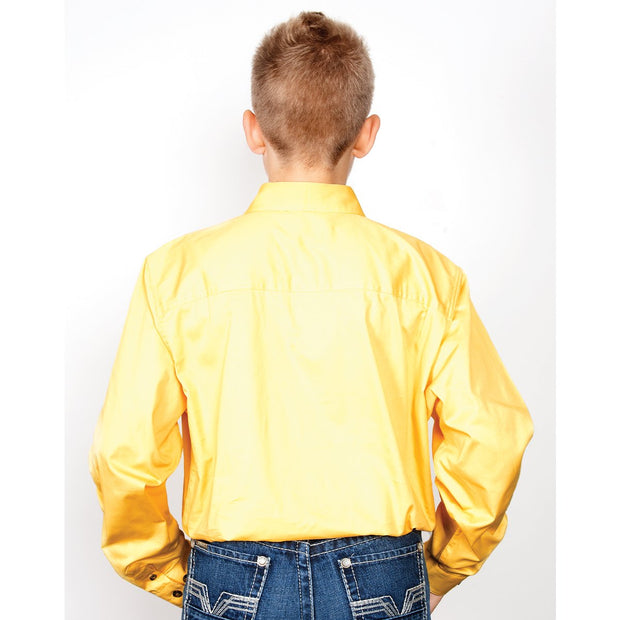 Just Country Workshirt Boy's Lachlan Butter 30303BUT back