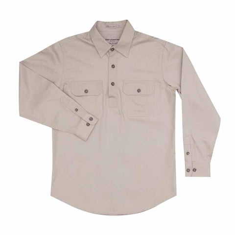 Just Country Workshirt Boy's Lachlan Stone