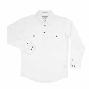 Just Country Workshirt Boy's Lachlan White