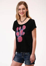 Roper Women's - Five Star Collection Tee Black 03-039-0513-2074 BL