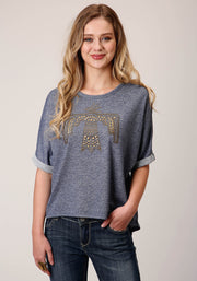 Roper Women's - Five Star Collection Tee Blue 03-039-0513-6114 BU