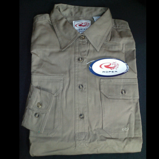 Women's Work Shirt - 1/2 Button